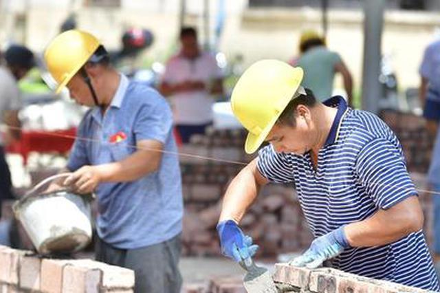 西安举办高技能人才大赛 农民砌筑工种首次纳入评比