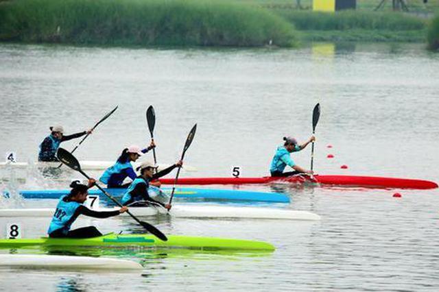陕西省青少年皮划艇(静水)锦标赛在汉中收官