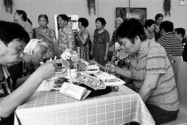 """西咸沣西新城有了""""长者食堂"""" 解决老人吃饭难问题"""