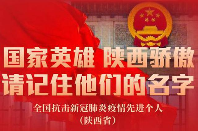 国家英雄 陕西骄傲 请记住他们的名字!