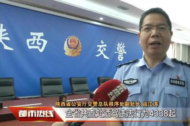 速看!陕西交警曝光8月终生禁驾名单,共涉及14人