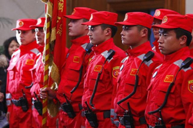 陕西省测绘应急救援队正式组建 共有人员63人