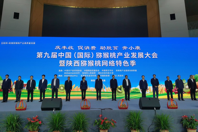 第九届中国(国际)猕猴桃产业发展大会开幕