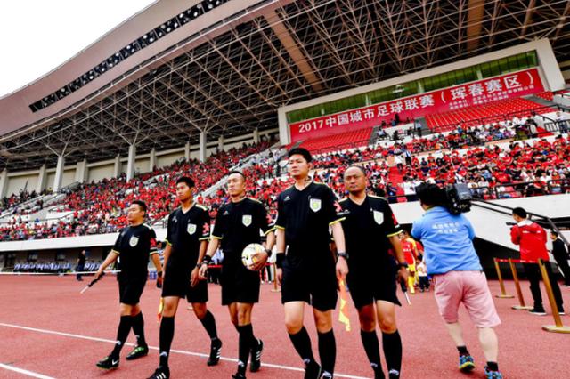 陕西省群众足球超级联赛在咸阳开幕 共19162名球员参赛