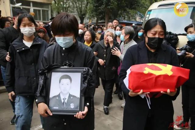 """北京大兴6·12火灾中牺牲的咸阳籍烈士王建""""回家""""了"""