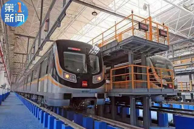 西安地铁9号线实拍图曝光 计划2020年底通车试运营