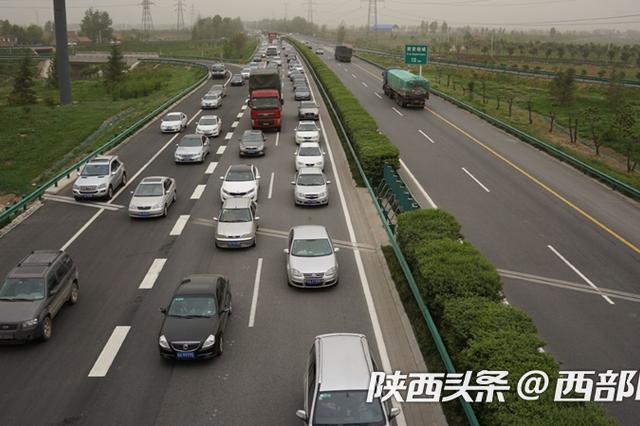 4车道扩至8车道 京昆高速蒲城至涝峪段改扩建工程有望近期开工