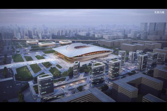 西安国际足球中心效果图发布 预计2022年完成项目建设