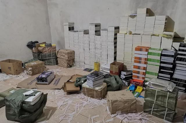 判了!西安破获一起侵权盗版案 收缴图书12.8万册