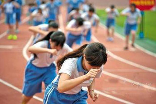 中考体育统考考场封闭 考试成绩现场公布