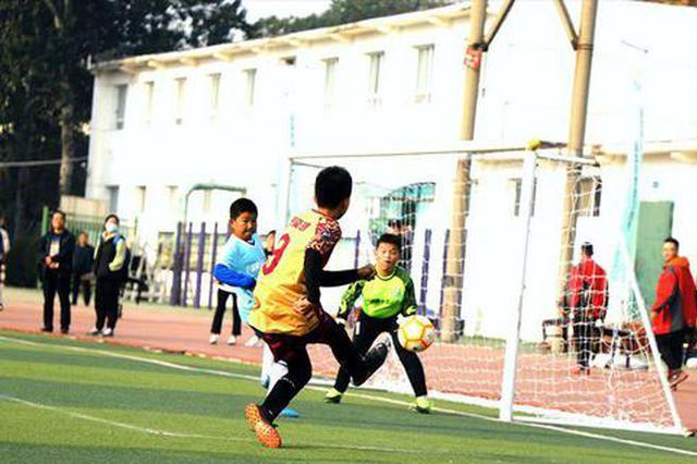 西安浐灞校园足球联赛开赛 27支队伍参赛