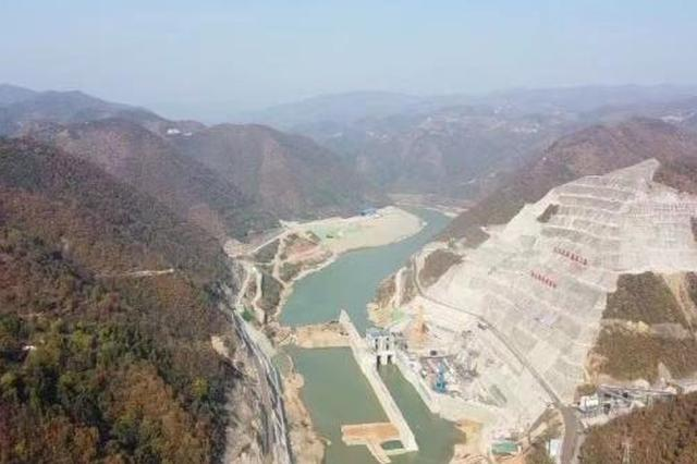 重磅!引汉济渭工程黄金峡水利枢纽截流成功