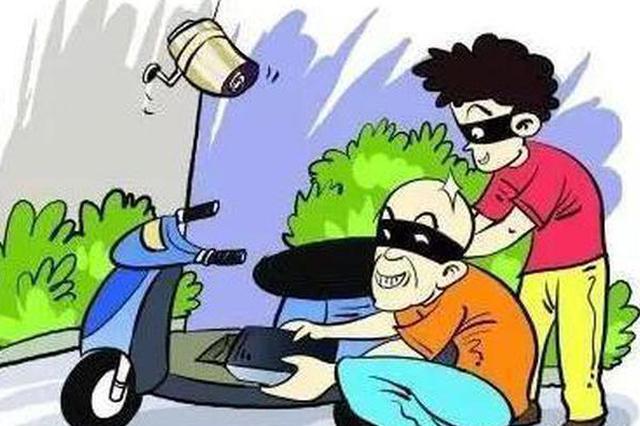 两男子凌晨驾车偷盗电瓶被抓 案件正在进一步调查