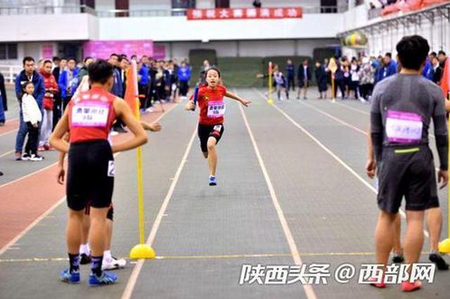 陕西田径公开赛在西安举行 400余名选手参赛