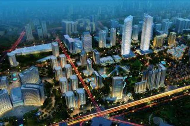 """西安北部新地标""""绿地之心""""在经开区开工"""