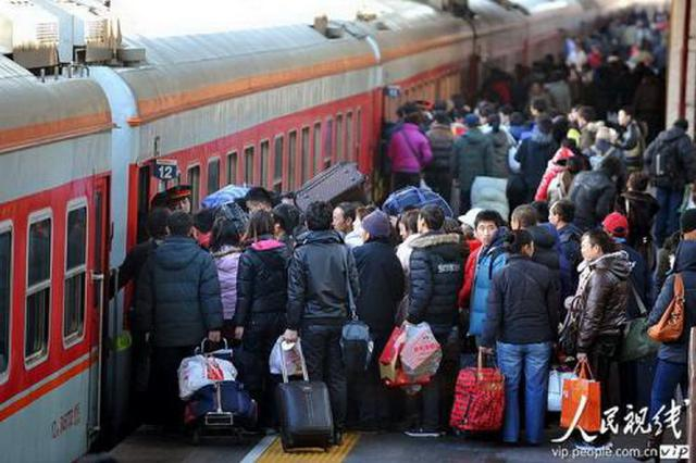 陕西铁路春运今日启动 3月8日结束共40天