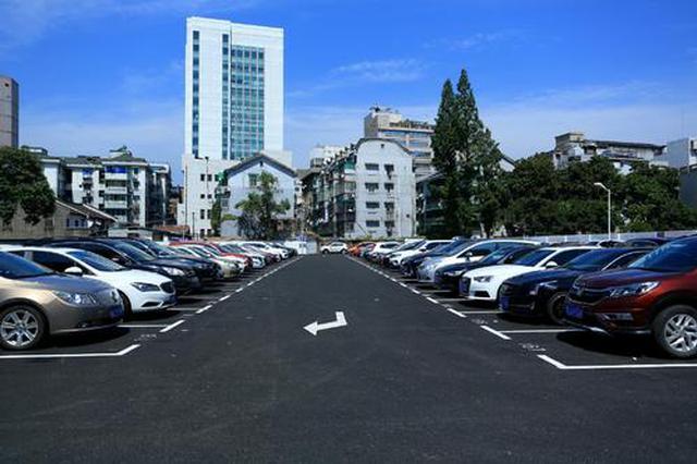 免费!榆林城区3500个公共停车泊位免费停车4天