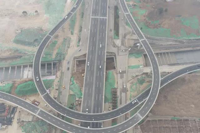 西安北辰大道(凤城八路-建材北路)快速路右幅通车