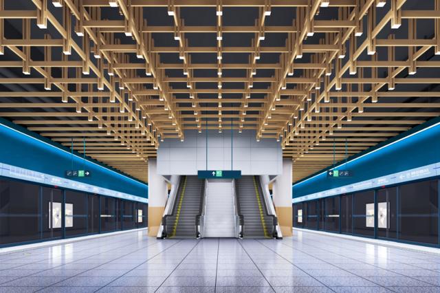 惊艳!西安地铁1号线三期车站设计方案曝光