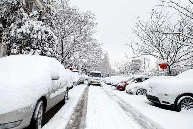 """榆林乍暖还寒气温""""大跳水"""" 将有两次降水局部有暴雪"""