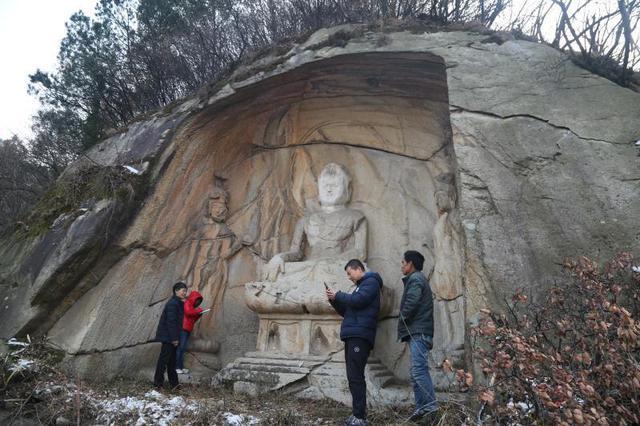 """""""踏雪寻窟"""",陕西新发现石窟200余处"""