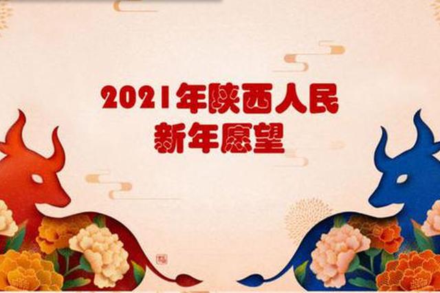 2021年陕西人的新年愿望统计出来了 医疗是当下最大关切