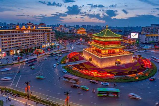 西安钟楼上榜全国十大热门景区 酒店度假热度不减