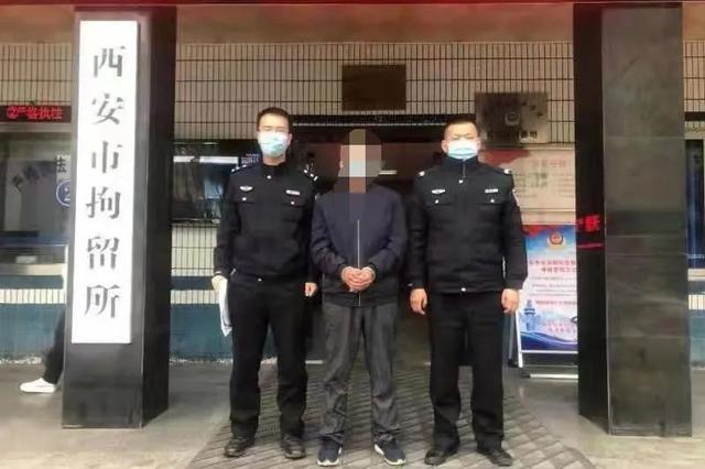 陕西一醉酒男子在超市收银台脱衣服骂人 被刑拘10日