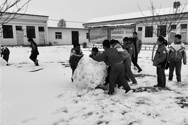 陕西省多地昨降雪 省气象台继续发布霜冻蓝色预警