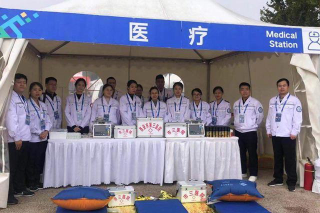 """六道医疗防线保障""""西马""""赛事"""