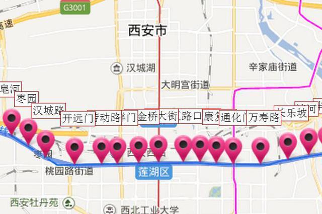 地铁1号线上林路站AB出入口将依次封闭
