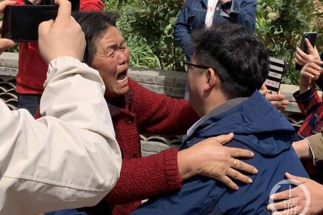 渭南男子被拐34年后回家:被拐2年即获救 在解救警察家长大