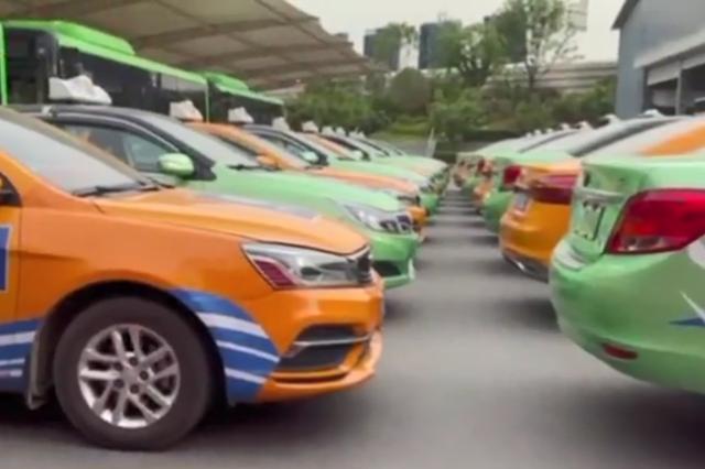 """迎""""十四运""""1400辆出租车换主题彩装 交通成西安文明新窗口"""