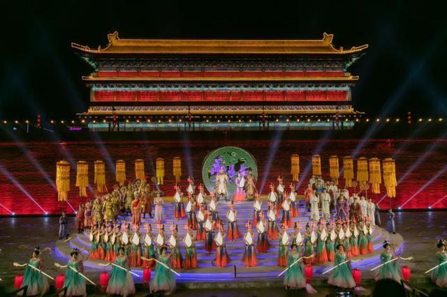 陕西举行仿古入城式欢迎出席丝博会暨西洽会中外嘉宾