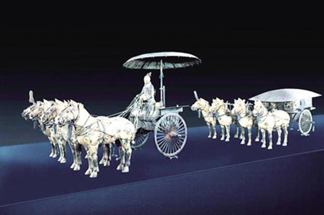 秦陵铜车马将启程运往新馆 秦始皇帝陵铜车马博物馆18日试开放