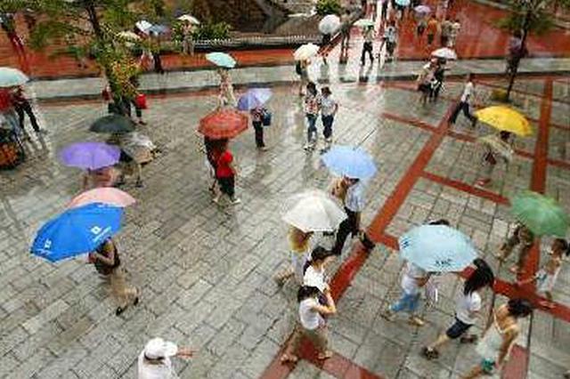 15日陕西大部有中到大雨 未来几天西安雨水持续