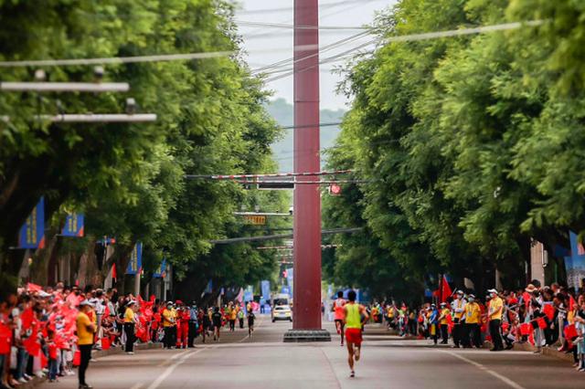 百场马拉松系列赛收官 宝鸡·麟游夏季半程马拉松赛精彩举行