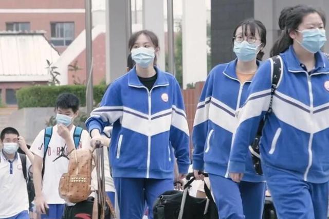 西安:中考生进入考场自主决定是否佩戴口罩