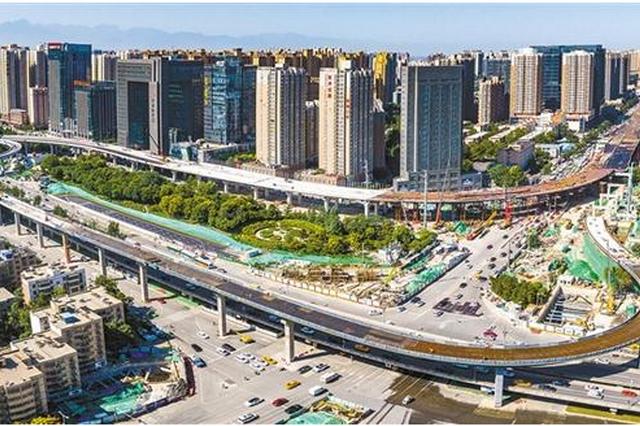 7月14日起 西安南二环(长安路~桃园路)路面提升改造