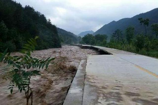陜西洛南突降暴雨 及時撤離危險區群眾5.8萬人
