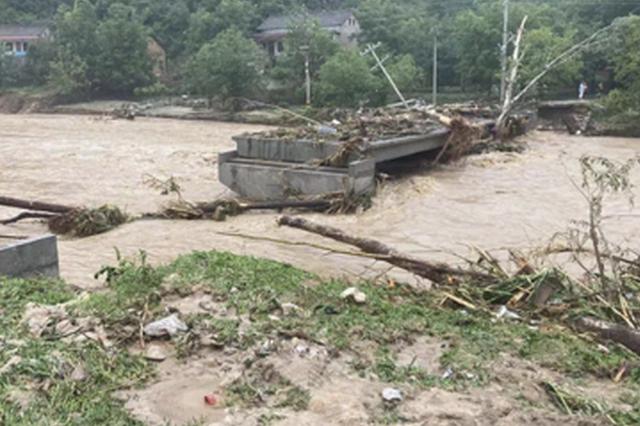 洛南暴雨災害直接損失16483.4萬元 查災救災工作專班成立