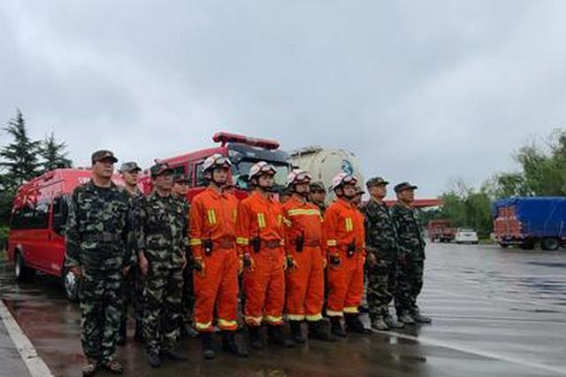 陜西三支專業救援隊馳援河南災區 目前正在有序排澇