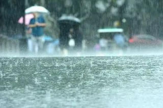 渭南多地遭遇短時強降雨 金堆鎮多條道路損毀