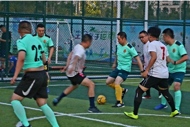西安雁塔區全民健身運動會五人制足球賽收官