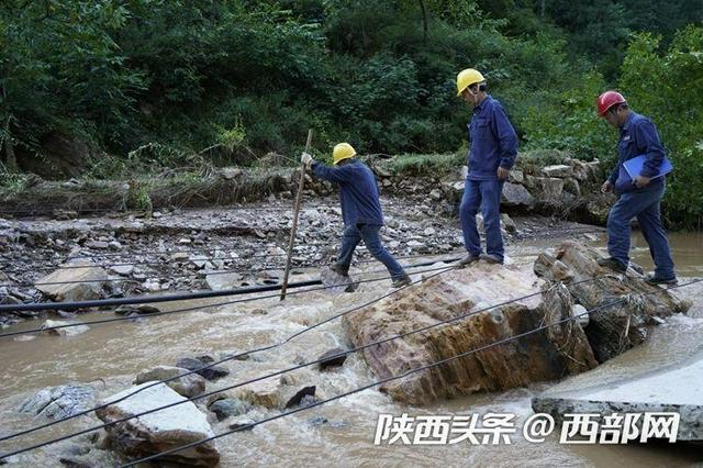 300余户山区居民恢复供电 西安供电公司赴商洛支援电力抢修