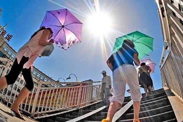 陕西多地高温破历史极值 今天有阵雨高温或缓解
