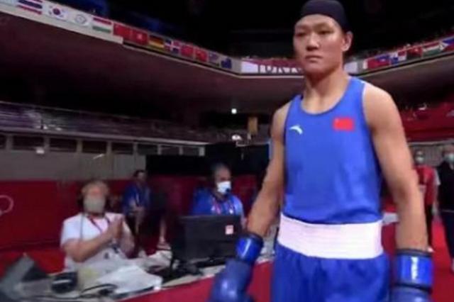 陕西运动员谷红点数取胜 晋级奥运会女子拳击决赛