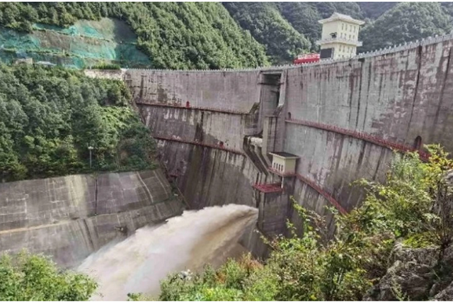 西安周边三大水库发挥消洪作用 确保下游群众生命财产安全