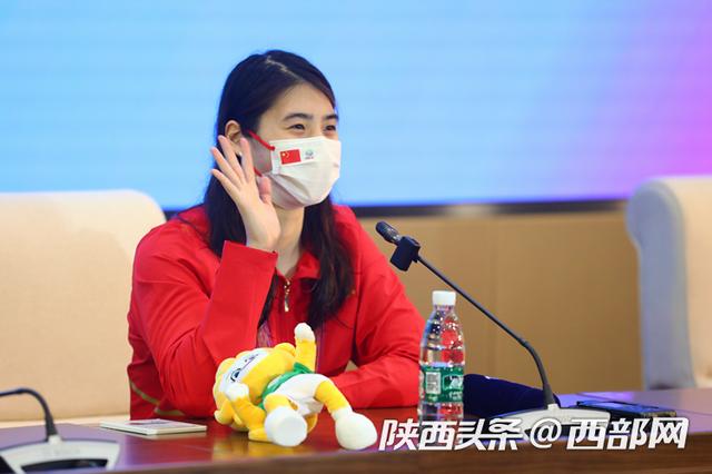 """""""世界蝶后""""张雨霏全运摘金:我的目标就是冲击世界纪录"""