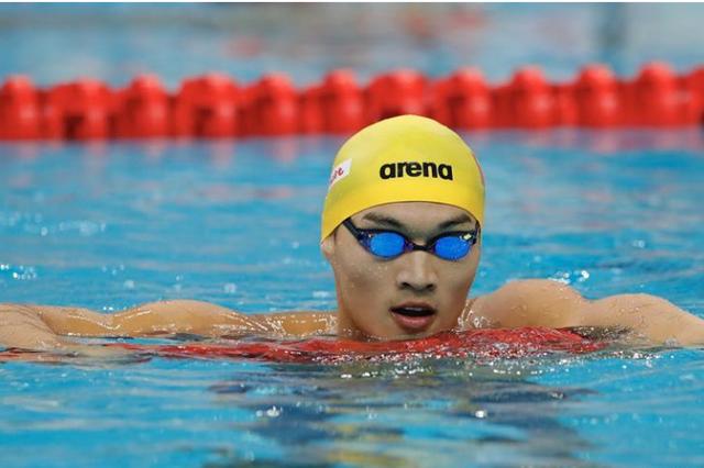 徐嘉余卫冕全运会男子100米仰泳冠军